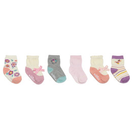 Winter Garden Baby Sock 8pk
