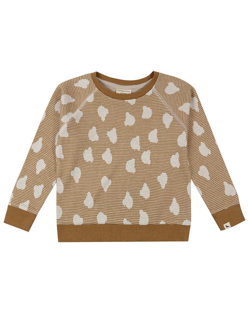 Turtledove London Bear Jacquard Sweatshirt