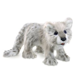 Folkmanis Snow Leopard Puppet