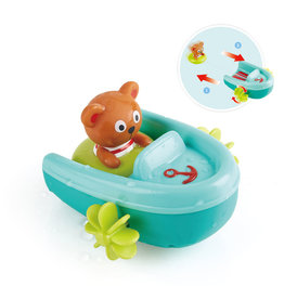 Hape Toys Tubing Pull-Back Boat