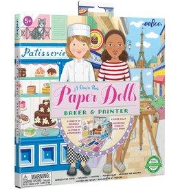 Eeboo Paper Dolls - Baker & Painter
