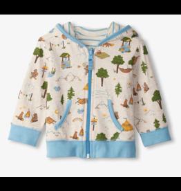 Hatley Mountain Reversible Baby Hoodie