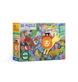 Eeboo Big Cats Puzzle 20pc