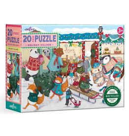 Eeboo Holiday Village Puzzle 20pc