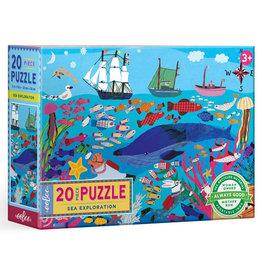 Eeboo Sea Exploration Puzzle 20pc