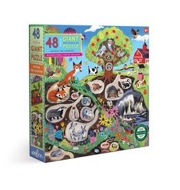 Eeboo Within the Country Giant Puzzle 48pc