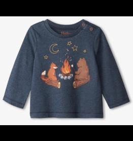 Hatley Campfire Friends LS Baby Tee