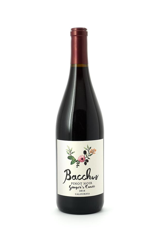 Bacchus Pinot Noir Ginger's Cuvee 2018