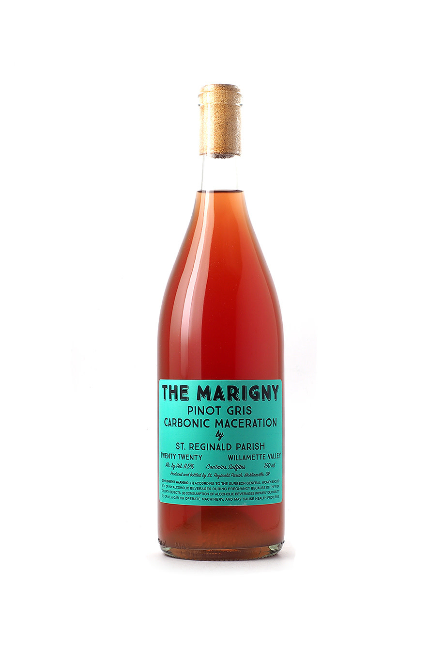 St. Reginald Parish The Marigny Carbonic Pinot Gris 2020