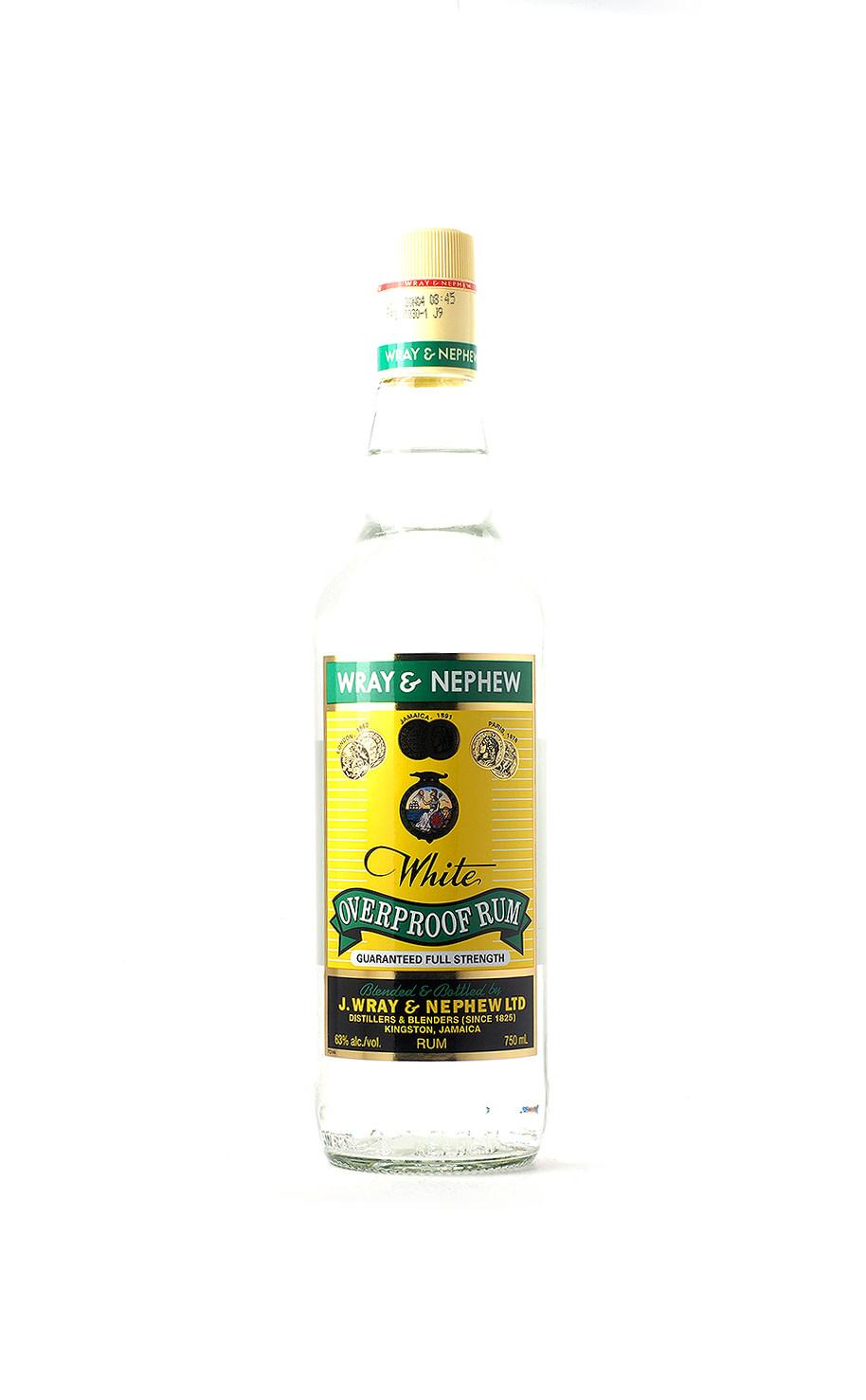 Wray & Nephew Overproof White Rum