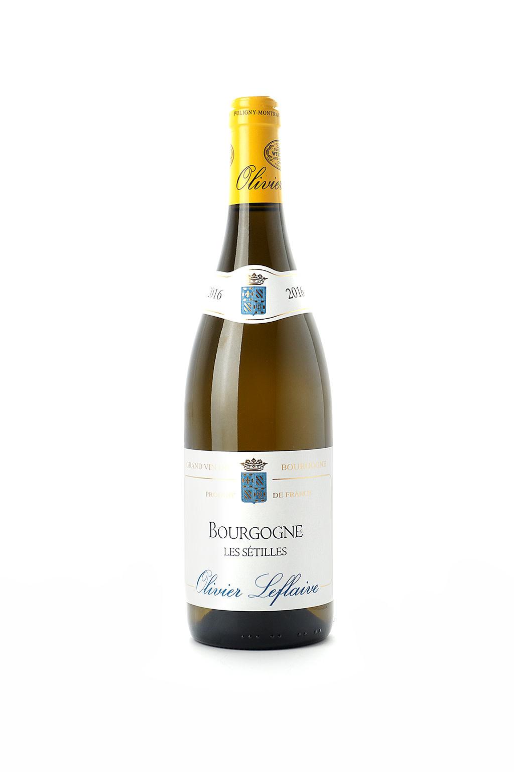 """Olivier Leflaive Bourgogne Blanc """"Les Setilles"""" 2016"""