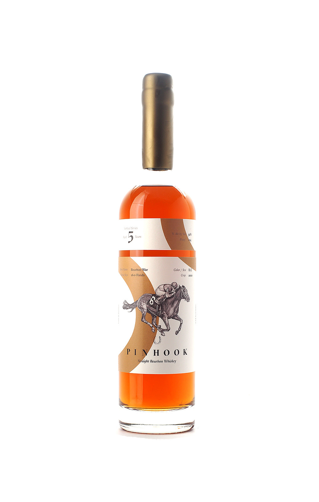 Pinhook Vertical Series Bourbon War 5 Year Straight Bourbon Whiskey