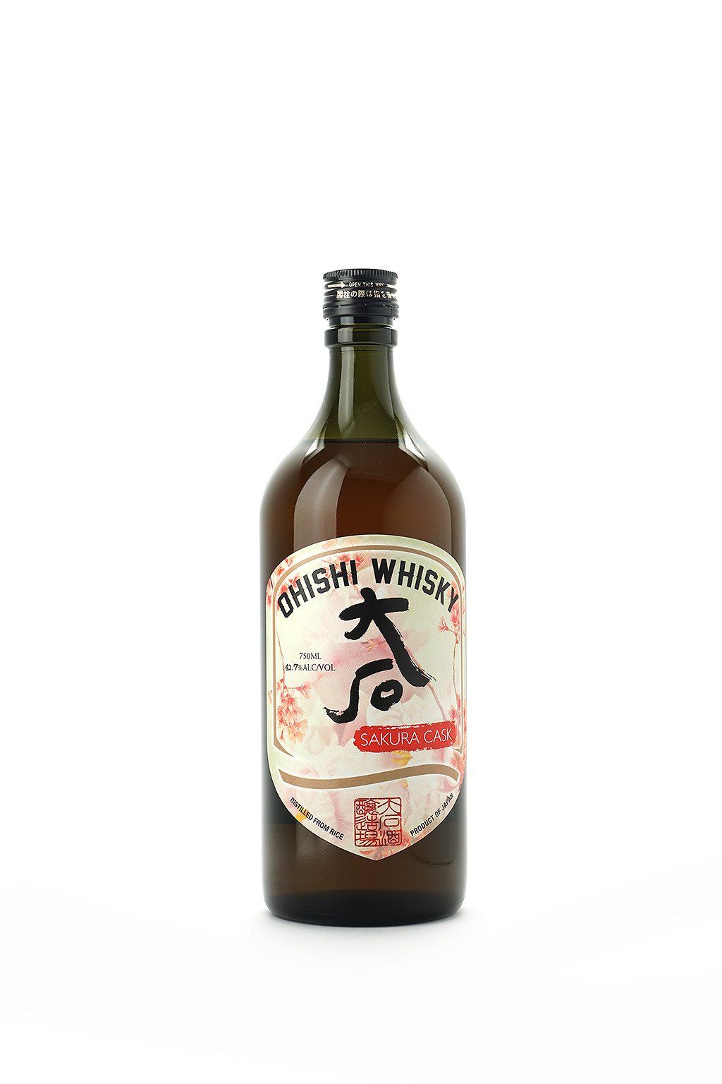 Ohishi Whisky Sakura Cask 750ml