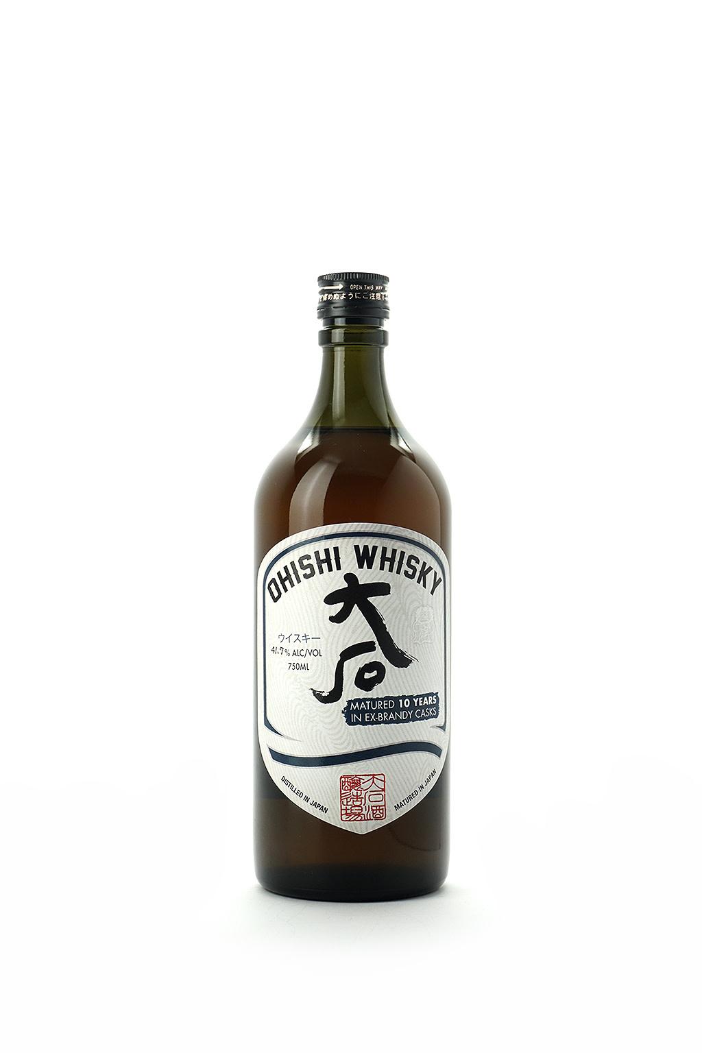 Ohishi Brandy Cask Whisky 10 Year
