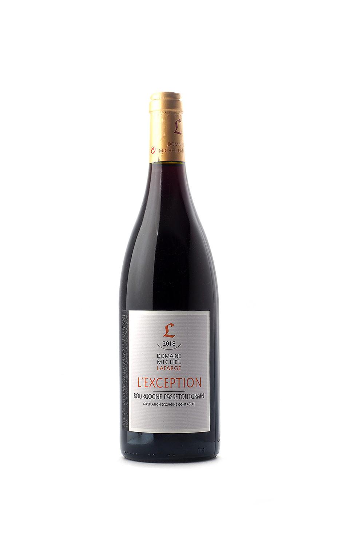 Domaine Michel Lafarge Bourgogne Passetoutgrain L'Exception 2018
