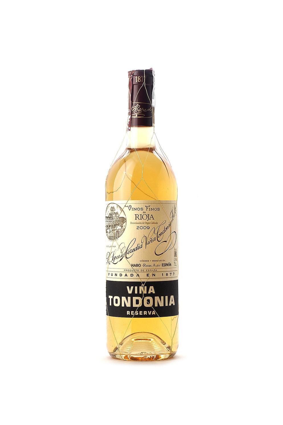 Lopez de Heredia Vina Tondonia Blanco Rioja Reserva 2009