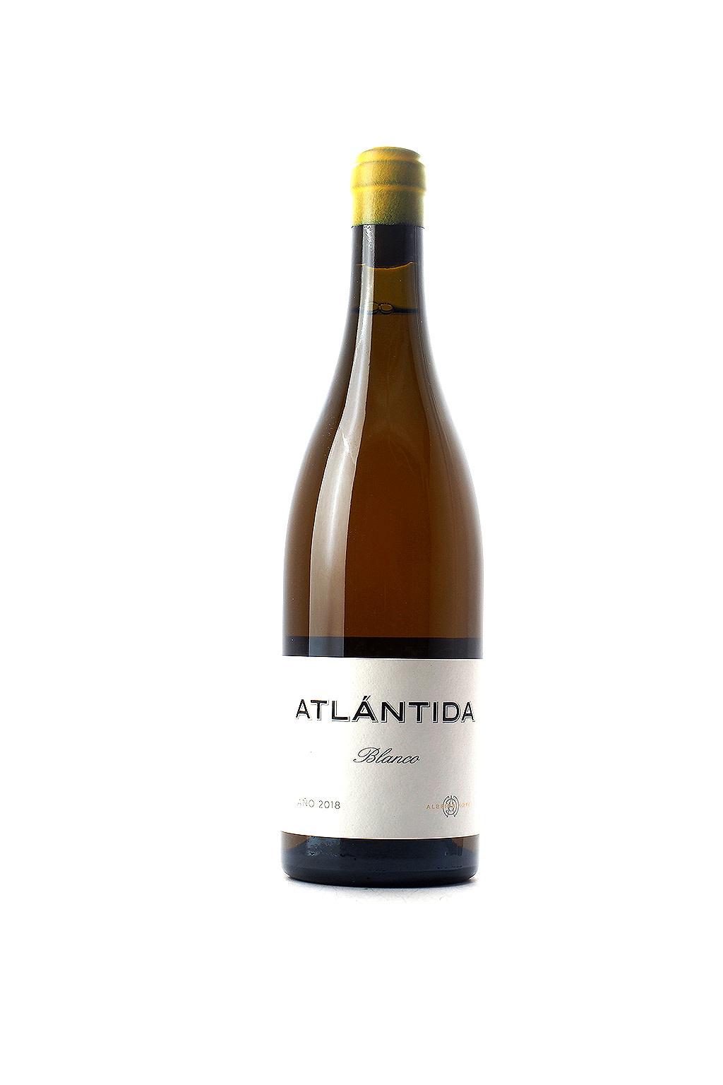 Alberto Orte Atlantida Blanco 2018