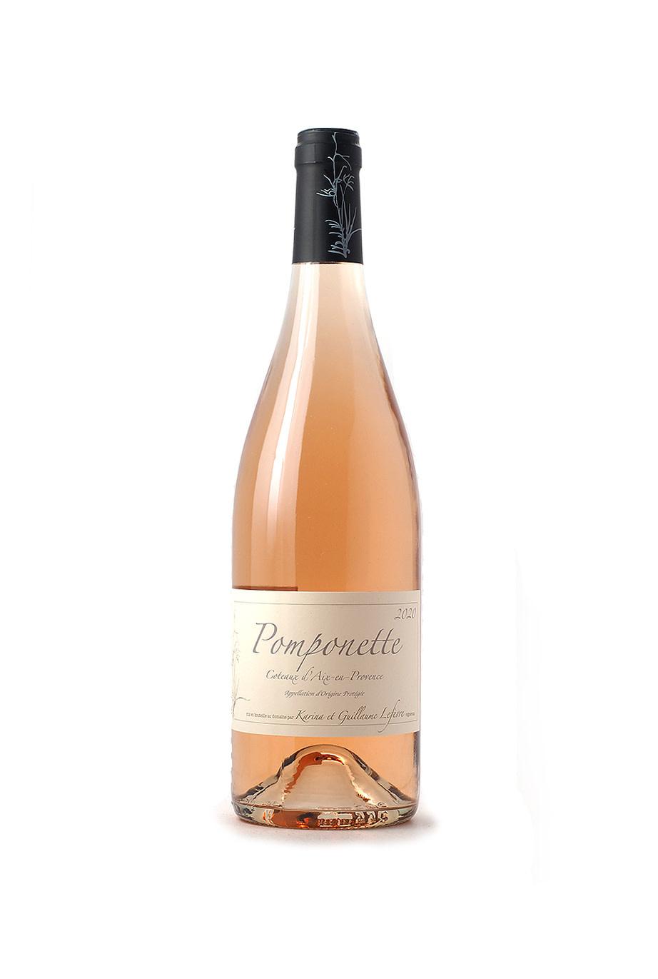 Sulauze Coteaux d'Aix-en-Provence Pomponette Rose 2020 1.5L