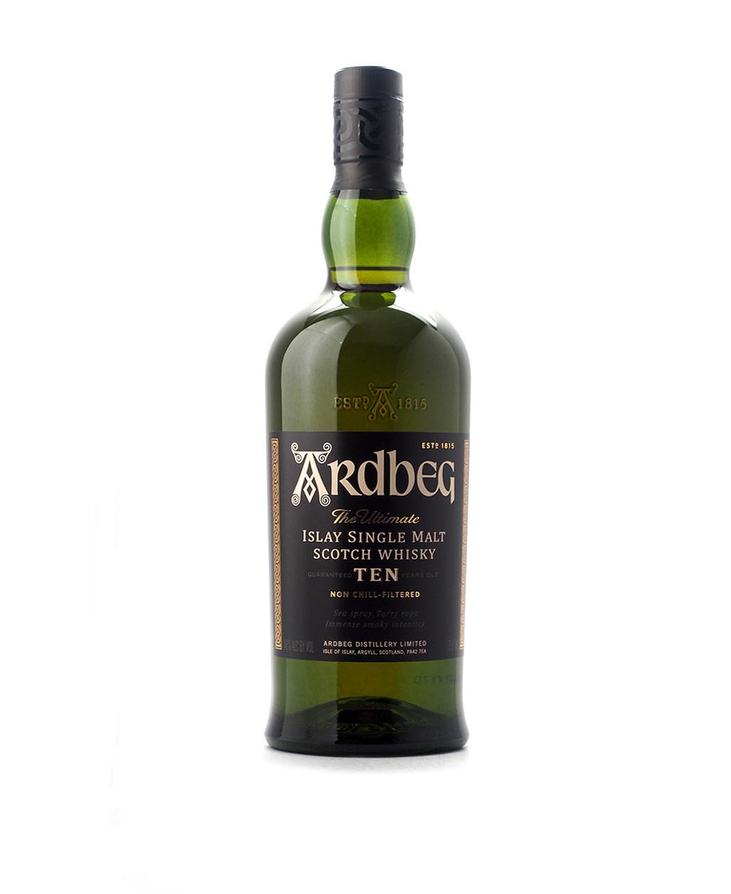 Ardbeg 10 Year Islay Single Malt Scotch
