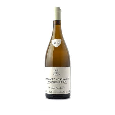 Paul Pillot Chassagne-Montrachet Blanc 1er Cru Clos Saint Jean 2019
