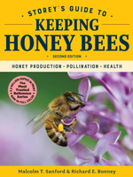 Beginning Beekeeping Storey's Guide to Keeping Honey Bees- 2nd edition hard cover