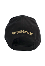 Hermosa Cyclery Hermosa Cyclery - The Strand, Structured Low-Profile Black Hat - - Fahrenheit 256