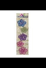 Cruiser Candy Hibiscus Rhinestone Decals