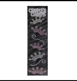 Cruiser Candy Crown Rhinestone Decals