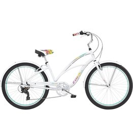 "Electra Electra Cruiser Lux 7D 24""Step-Thru Bright White"