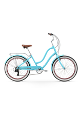 Firmstrong Firmstrong Anyjourney 7-Speed, Step-Thru, Teal