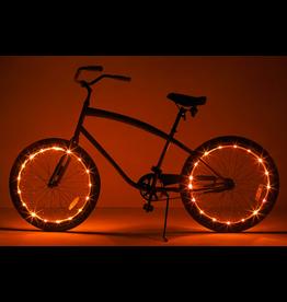 Brightz, Ltd. Wheel Brightz LED Lights - Orange (ONE WHEEL)