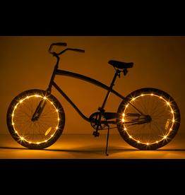Brightz, Ltd. Wheel Brightz LED Lights - Gold (ONE WHEEL)