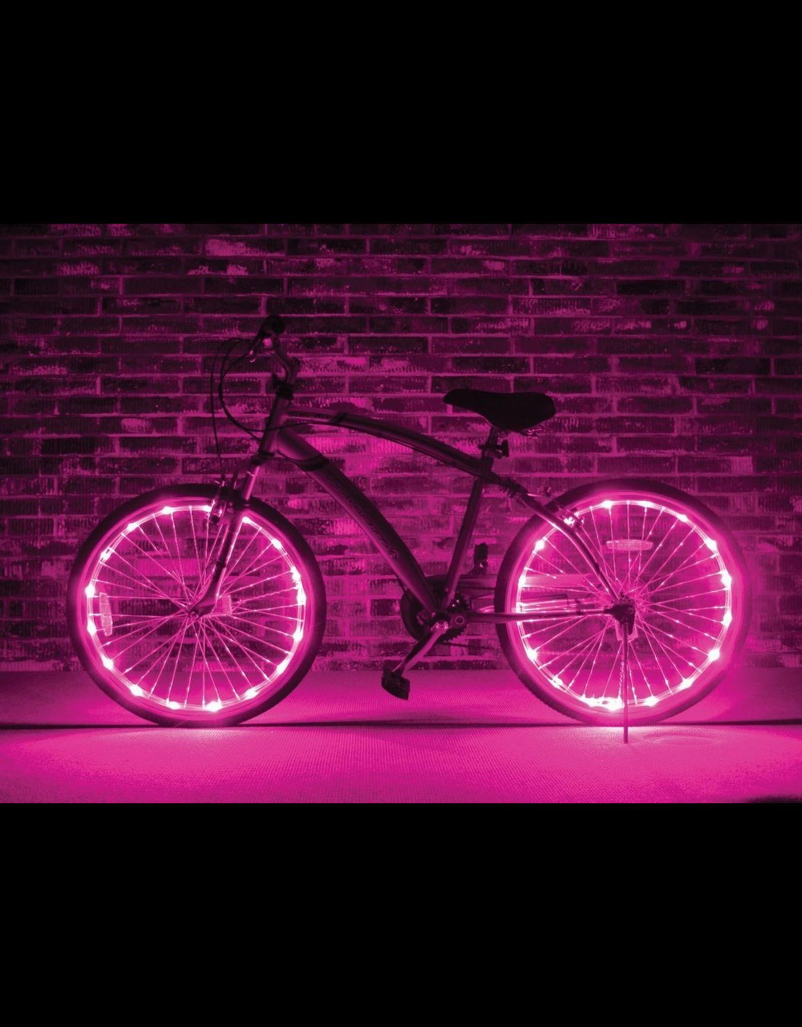 Brightz, Ltd. Wheel Brightz LED Lights - Pink (ONE WHEEL)