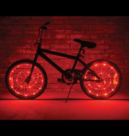 Brightz, Ltd. Wheel Brightz LED Lights - Red (ONE WHEEL)