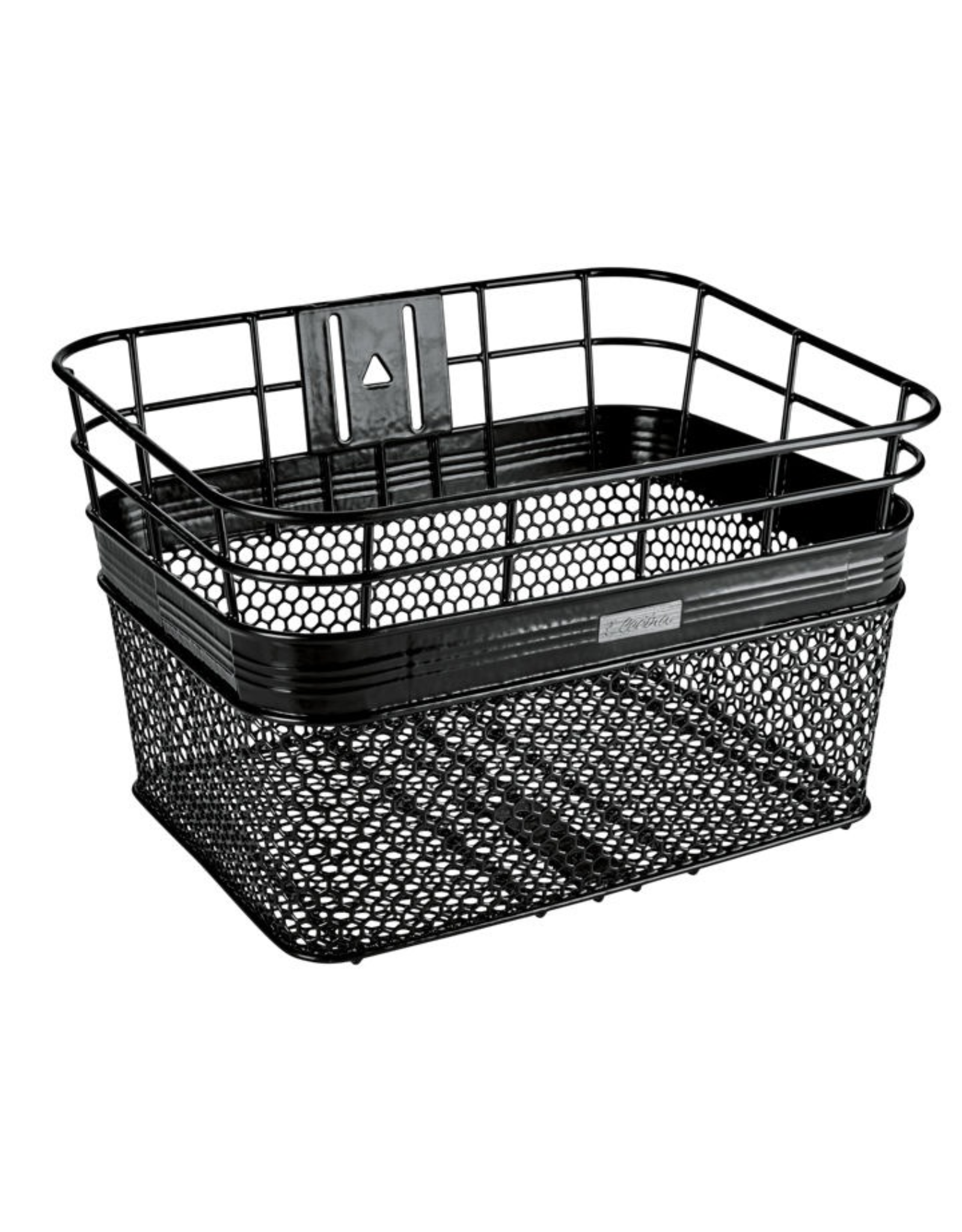 Electra Electra Front Steel Wire Mesh Basket in Black