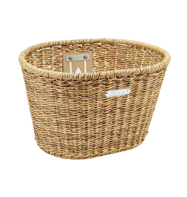 Electra Basket Electra Plastic Woven Light Brown