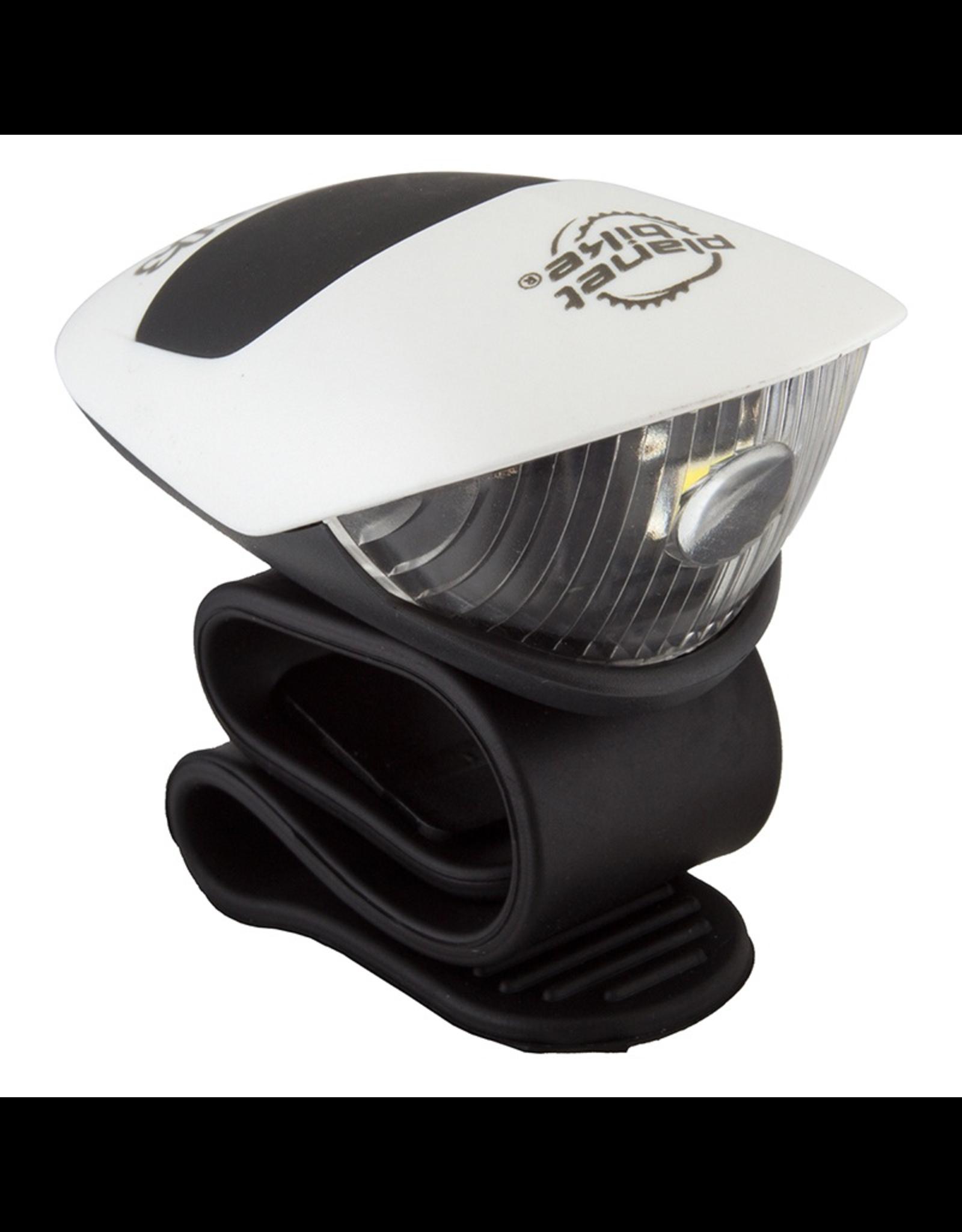 Planet Bike Planet Bike Battery Light - Spok LED Micro Headlight