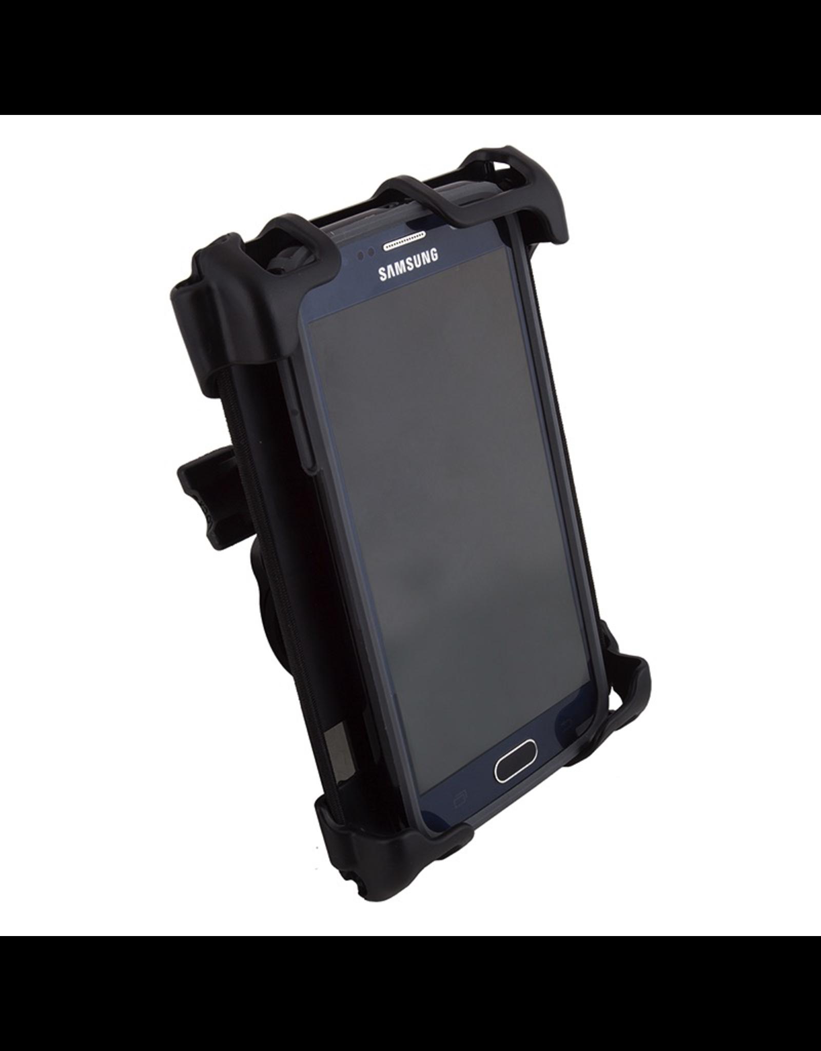 Delta Delta Handlebar Phone Holder - Hefty+, Black