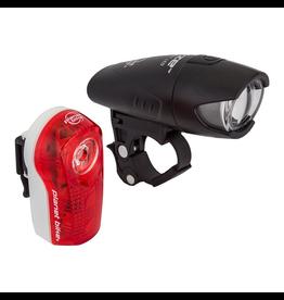Planet Bike Planet Bike Superflash/Blaze Set, head & tail light set