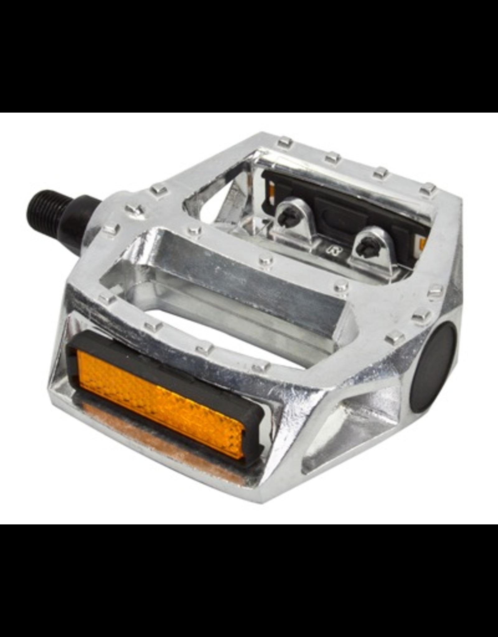 "Sunlite Sunlite MX Alloy Pedals 1/2"", Silver"