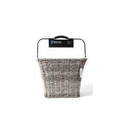 Batch Batch Tote Basket - Wicker, Gray