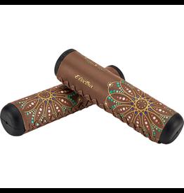 Electra Electra Mandala Long Grip Set - 125mm, Brown