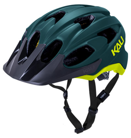 Kali Kali Pace Helmet Matte Teal/Fluo Yellow Small/Medium