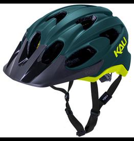 Kali Kali Pace Helmet Matte Teal/Fluo Yellow Large/X-Large