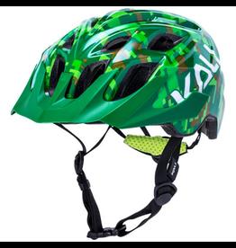 Kali Kali Chakra Pixel Helmet - Green, One Size