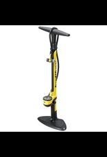 Topeak Topeak JoeBlow III floor pump, 160psi, yellow