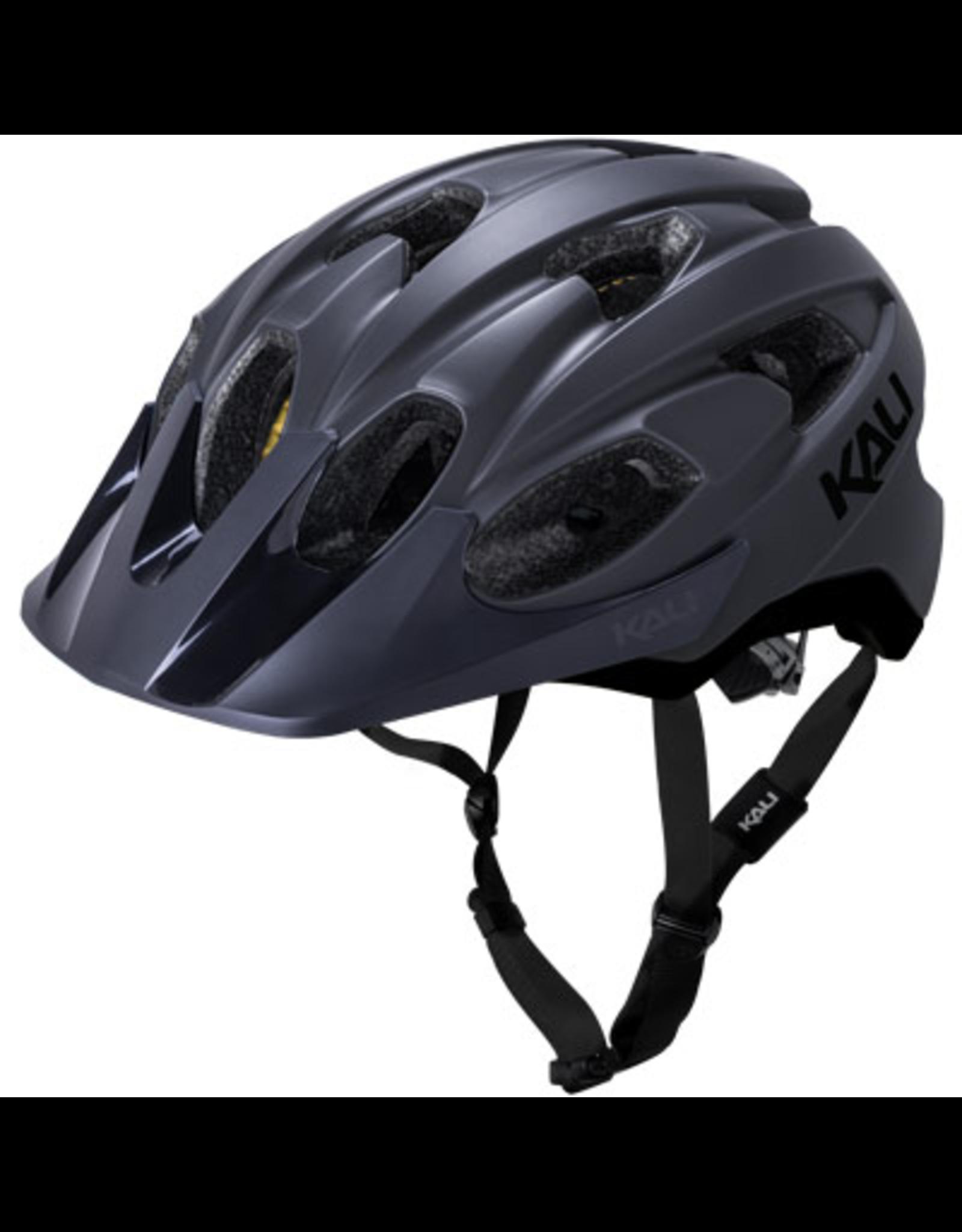 Kali Kali Pace Helmet Solid Matte Black Large/X-Large