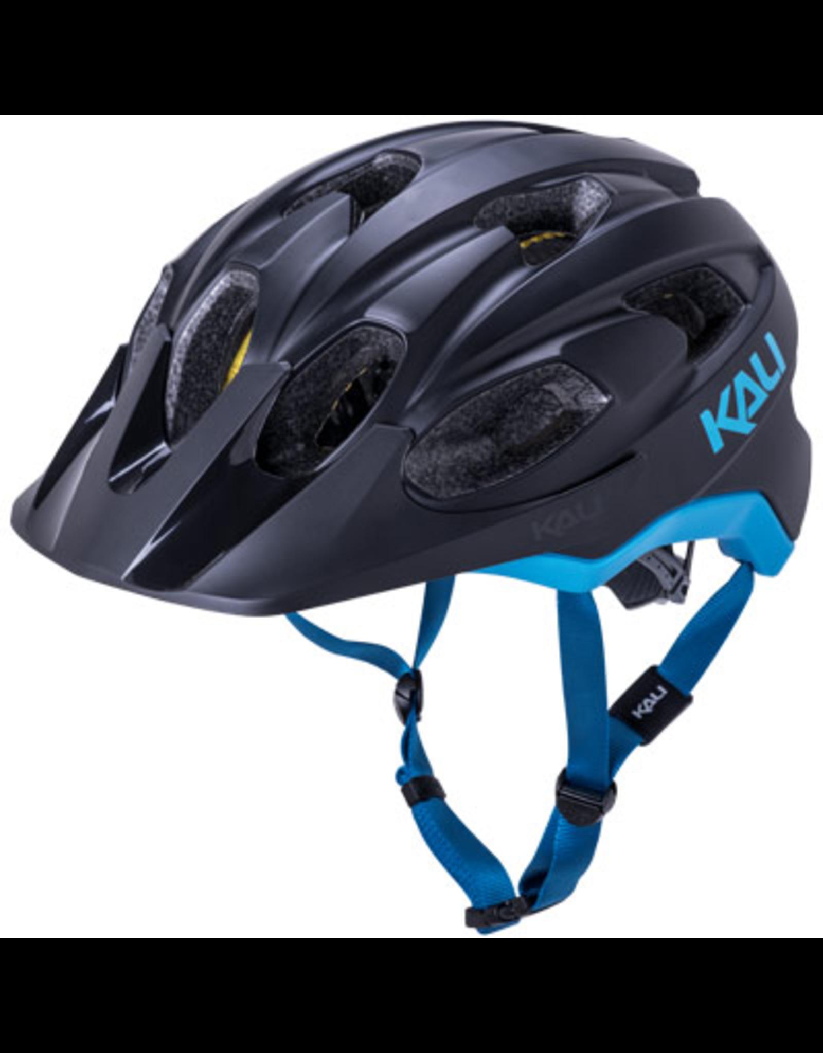 Kali Kali Pace Helmet Matte Black/Blue Small/Medium