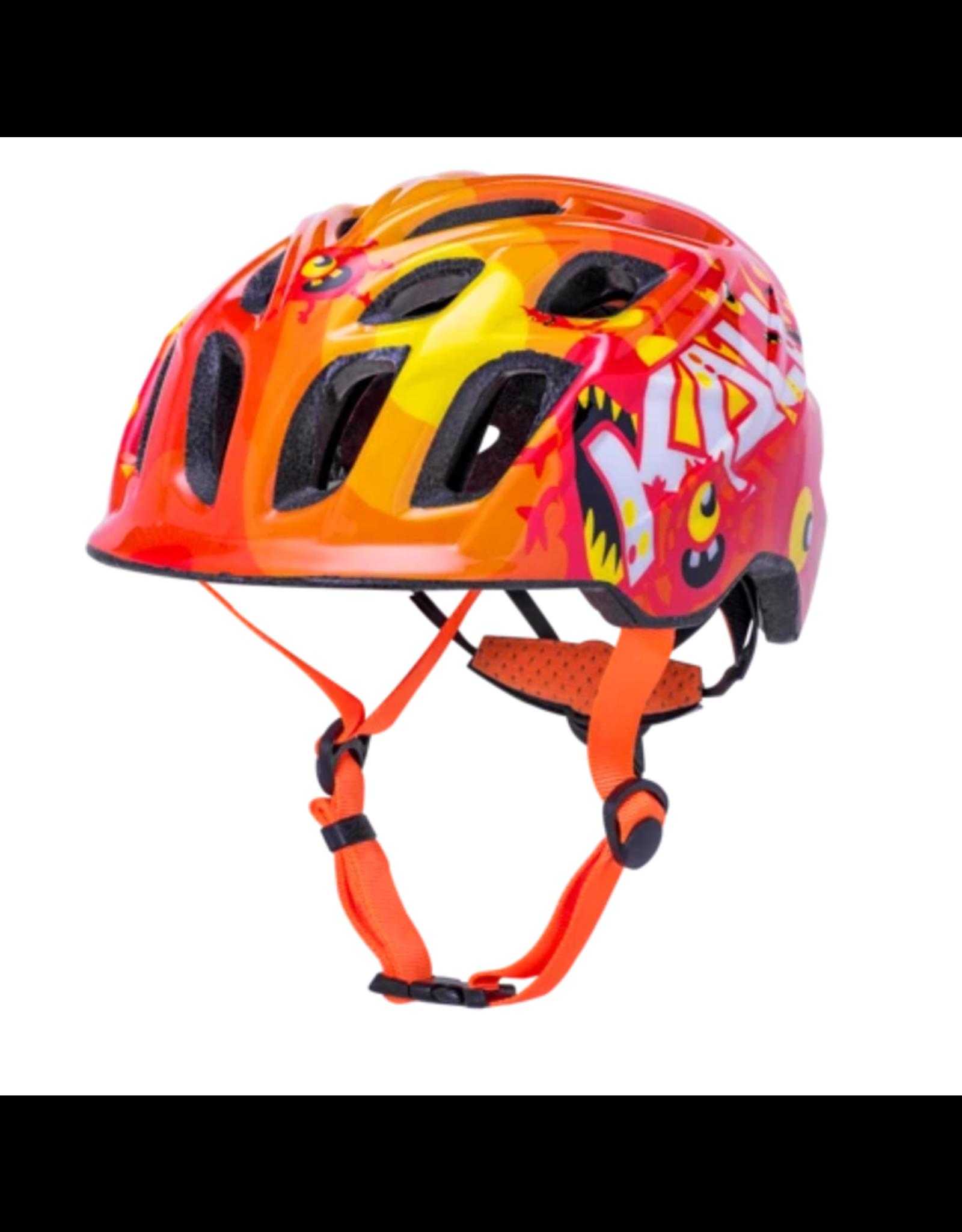 Kali Kali Chakra Monsters Helmet - Orange, X-Small
