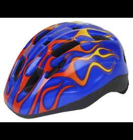 Aerius Aerius Xanthus V11iF Toddler Blue Flames Helmet Small/Medium